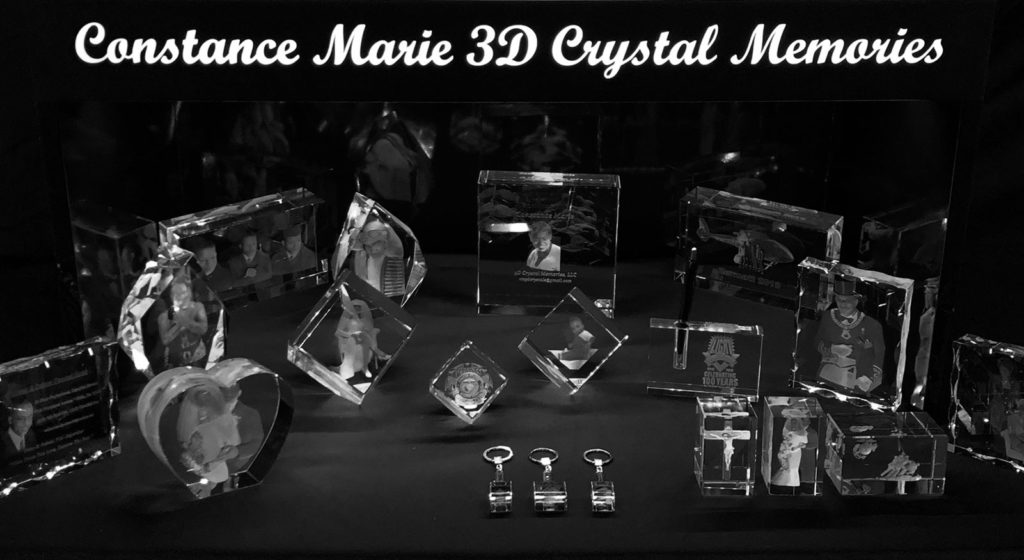 Custom Laser 3D Crystal Gifts