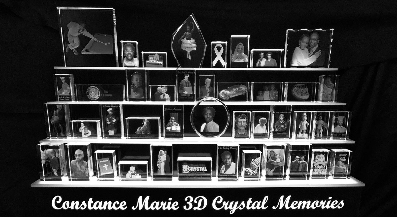 2D/3D Laser Crystal Gifts