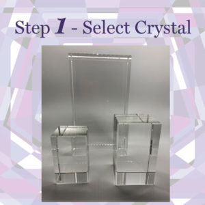 Step 1: Select Crystal